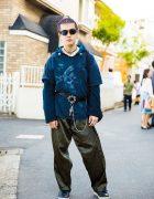 Harajuku Guy in Streetwear by L.T.Tokyo, Sullen, Resale Shops & Ham
