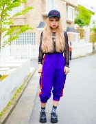 Sporty Harajuku Street Style w/ Candy Stripper, Skoot, Grafea, Amijed, Nyulycadelic, Alice Black & Demonia
