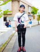Japanese & Korean Streetwear in Harajuku w/ Dododo, Another Youth & Basic Cotton