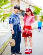 Cute Harajuku Couple Street Style w/ Vannie Tokyo, Candy Stripper & Vivienne Westwood