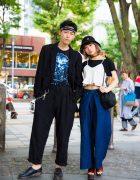 His & Hers Harajuku Streetwear w/ Yohji Yamamoto, Comme des Garcons, Gosha, John Lawrence Sullivan & Dr. Martens