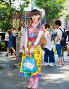 Colorful Kawaii Fashion in Harajuku w/ 6%DOKIDOKI, Grand Ground, Love Revolution & Angel Blue