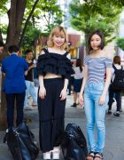 Harajuku Girls in Street Styles by Merry Jenny, Evris & H&M
