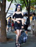Gothic Japanese Street Style w/ Noise and Kisses, Demonia, Glad News, Never Mind the XU, Bubbles & Vivienne Westwood