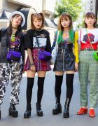 Harajuku Girls Streetwear w/ Faith Tokyo, Open The Door, Bubbles, 7% More Pink, Kiko x UNIF & WEGO