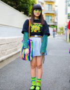 Teenage Mutant Ninja Turtles Street Style in Harajuku w/ Kinji, Peco Club & Kobinai