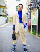 Harajuku Men's Suit Streetwear Style w/ Adidas, Thrasher, New Balance & Vintage Fashion