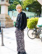 Harajuku Streetwear Look w/ Mikio Sakabe, MSGM, Kidill & Dr. Martens