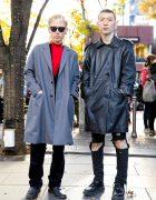 Warsaw Tokyo Hairstylists in Harajuku w/ John Lawrence Sullivan, Yves Saint Laurent, Sub-Age & Dressedundressed