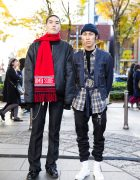 Japanese Winter Streetwear Styles w/ Takahiro Miyashita The Soloist, Maison Margiela, Levi's, Paraboot & Rothco