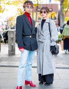 Street Style Power Dressing w/ Commes des Garcons, Mila Owen, Ruien, Faith Tokyo, Nina Ricci, Marc Jacobs & Toga