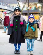 Stylish Harajuku Kids in Adorable Winter Fashion w/ Franky Grow & Boo Foo Woo