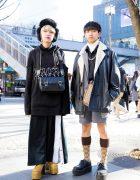 Harajuku Street Fashion w/ BERCERK, London Boots, M.Y.O.B., Gucci, Yosuke & L.H.P.