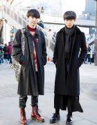 Dark Vintage Winter Fashion w/ Christopher Nemeth, Patrizia Pepe & Dr. Martens
