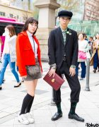 Harajuku Teens in Vintage Streetwear Styles w/ Y's, White Mountaineering, Burberry, Chanel, Puma x Fenty & Faith Tokyo