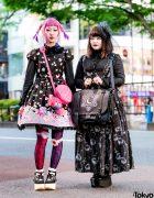 Harajuku Lolita Fashion w/ Angelic Pretty, Innocent World, Black Peace Now, 6%DOKIDOKI & Moschino
