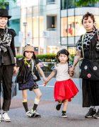 Mothers & Daughters Harajuku Street Fashion w/ Franky Grow, Balenciaga, Reebok, LV, Kouitten & Arere