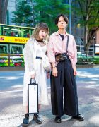 Harajuku Duo's Street Styles w/ LAD Musician, Mame, Dr. Martens & JieDa