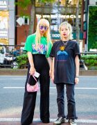 Harajuku Teens in Vintage Streetwear Styles w/ Faith Tokyo, Bubbles, Dr. Martens, Zara & Givenchy
