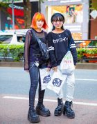 Harajuku Girls Street Styles w/ Faith Tokyo, Demonia, H&M, Vivienne Westwood, Never Mind the XU & MYOB