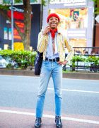 Fashion Designer's Vintage Street Style w/ Hysteric Glamour, Big Love Records, Saint Laurent & Oz Harajuku