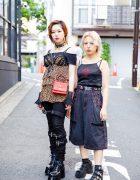 Harajuku Girls Street Styles w/ Another Youth, Yosuke, Chrome Hearts, MCM, Harley Davidson, Tripp NYC & Pinnap