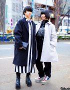 Tokyo Monochrome Streetwear Styles w/ WEGO, Codona De Moda, Kinglymask, Demonia, Cayhane, (Me), Merry Jenny & Spinns