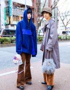 Harajuku Teen Street Styles w/ Leopard Print Hat, Vintage & Remake Fashion, M.Y.O.B., Forever 21 & Faith Tokyo