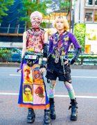 Jean Paul Gaultier Harajuku Street Styles w/ Little Twin Stars, Cyberdog, Anna Alice, New Rock, MYOB, Yohji Yamamoto & Koji Kuga