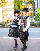 Harajuku Lolita & Steampunk Street Styles w/ Matching Alice And The Pirates Dresses, Cap Sleeve Vest, Ruffle Collar Blouses & Baby The Stars Shine Bright