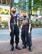 Harajuku Streetwear Styles w/ Face Masks, Tribal Earrings, Harley Davidson, Prada, Fendi, Never Mind the XU, Tripp NYC & Eytys