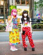 Tokyo Kawaii Styles w/ Pink Hair, Love Revolution, Kinji, Angel Blue, Daisy Lovers, Betty Boop T-Shirt, Claire's, Handmade Canvas Tote, Yosuke & Skechers Sneakers