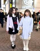 Cute Syrup, Milk & Resale Fashion on Center Street in Shibuya