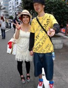 Tommy Boy & Smiling Girl in Shibuya