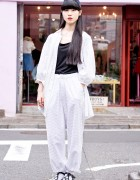 Harajuku Girl in tricot COMME des GARCONS, Tokyo Bopper & Vivienne Westwood
