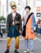 Avant-garde Japanese Street Styles w/ Undercover, Yohji Yamamoto, Comme Des Garcons, 20471120 & Raf Simons