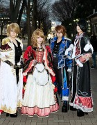 Versailles Final Concert – Fan Fashion Snaps on December 20, 2012 at NHK Hall Tokyo