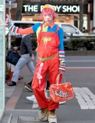 Harajuku Fashion Walk Organizer Junnyan Wearing W&LT by Walter Van Beirendonck