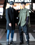 Harajuku Guys Street Styles w/ Yang Li, Rick Owens, Gucci, Human Experiments & UNIQLO