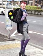 Aymeric Bergada Du Cadet in Harajuku w/ Yazbukey Palette Clutch