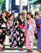 Yukata Pictures – Jingu Gaien Fireworks x Harajuku