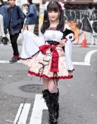 Harajuku Actress w/ h.Naoto Kimono Sleeve Top, Hangry&Angry & Vivienne Westwood