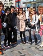 Harajuku Street Fashion Snaps – April 2009
